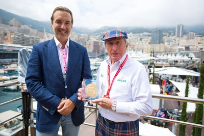 Rosland Capital Donates Rare 1kg Gold Coin to Benefit Sir Jackie Stewart's Race Against Dementia Charity