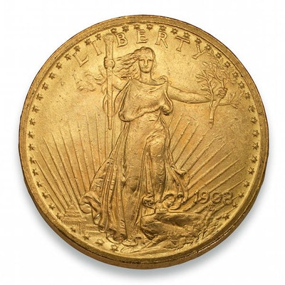 $20 Saint-Gaudens Gold Coin
