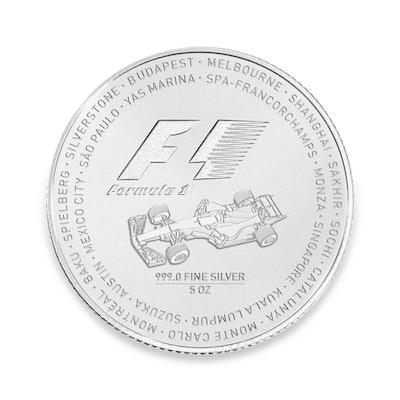 2017 Formula 1® 5-oz Silver Coin