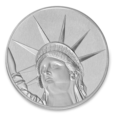 Liberty Silver Coin Back