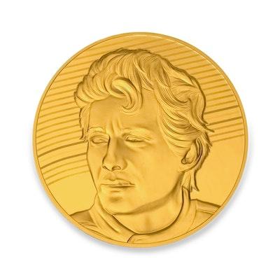 Ayrton Senna 1/4-oz Gold Coin