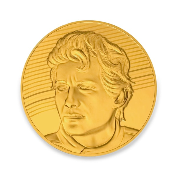 Ayrton Senna 1/4-oz Gold Coin