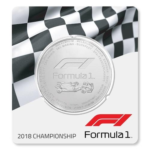 2018 Formula 1<sup>®</sup> 2.5 oz Silver Coin