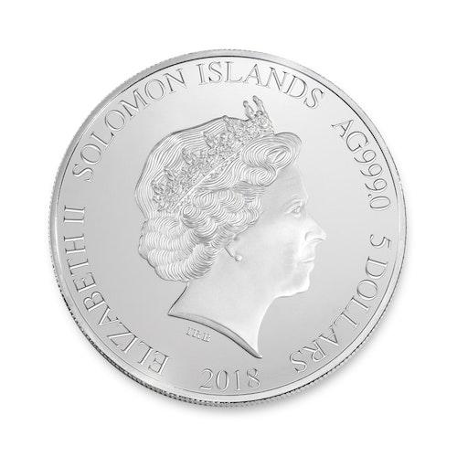 Formula 1<sup>®</sup> 2.5 oz Silver Coin 2018