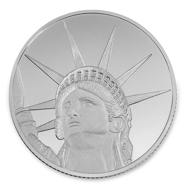 Lady Liberty Coin Back