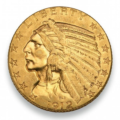 $5 Indian Head Gold Coin