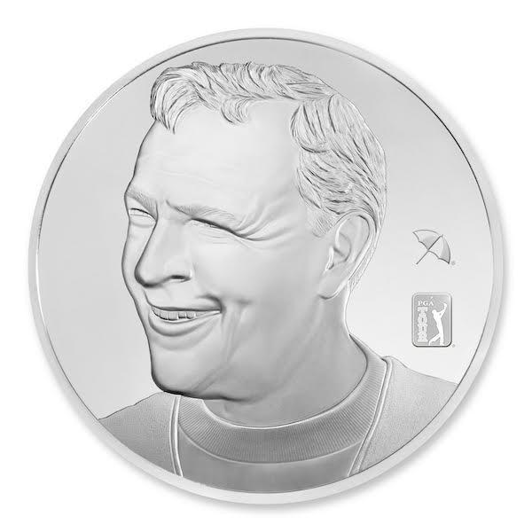 Arnold Palmer Silver 1-Kilo Proof
