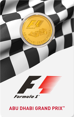 2016 ABU DHABI GRAND PRIX™ 1/4-oz. Gold Coin