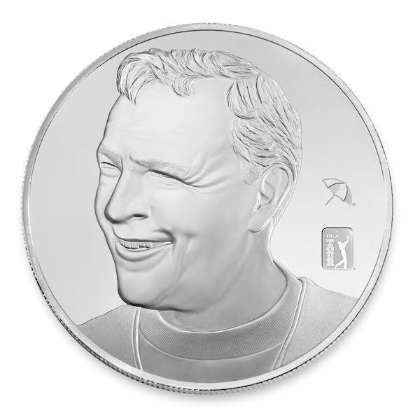 Arnold Palmer 2.5 oz Silver Proof