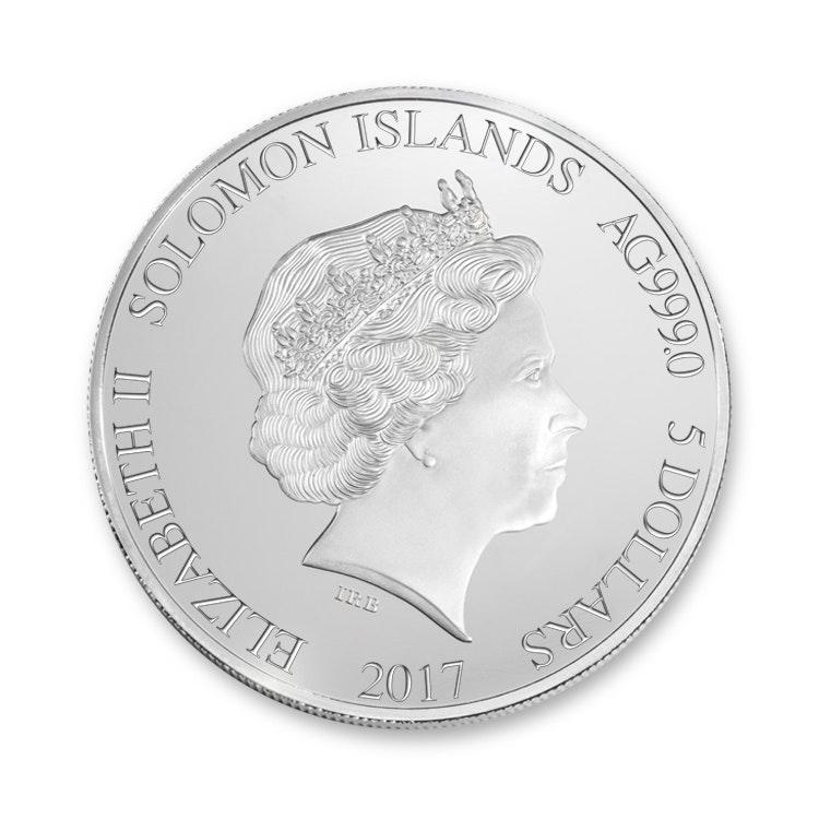 Ayrton Senna Silver Coin Front
