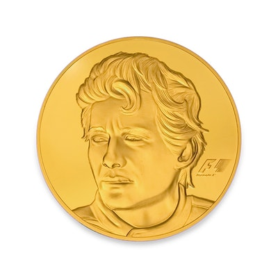 2017 Ayrton Senna 30-oz Gold Coin