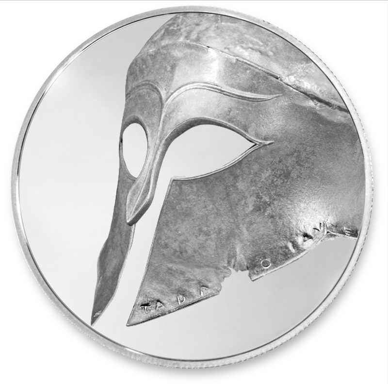 Silver British Museum Coin