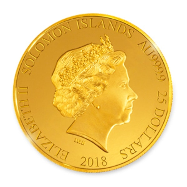 British Museum Gold Coin Front