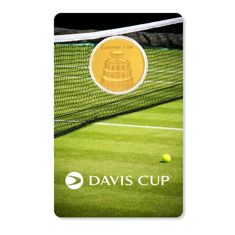 Davis Cup 2021 1/4 oz Gold Coin