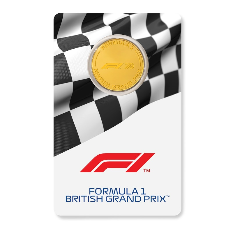 Formula 1® F170 1/4-oz Gold Coin 2020