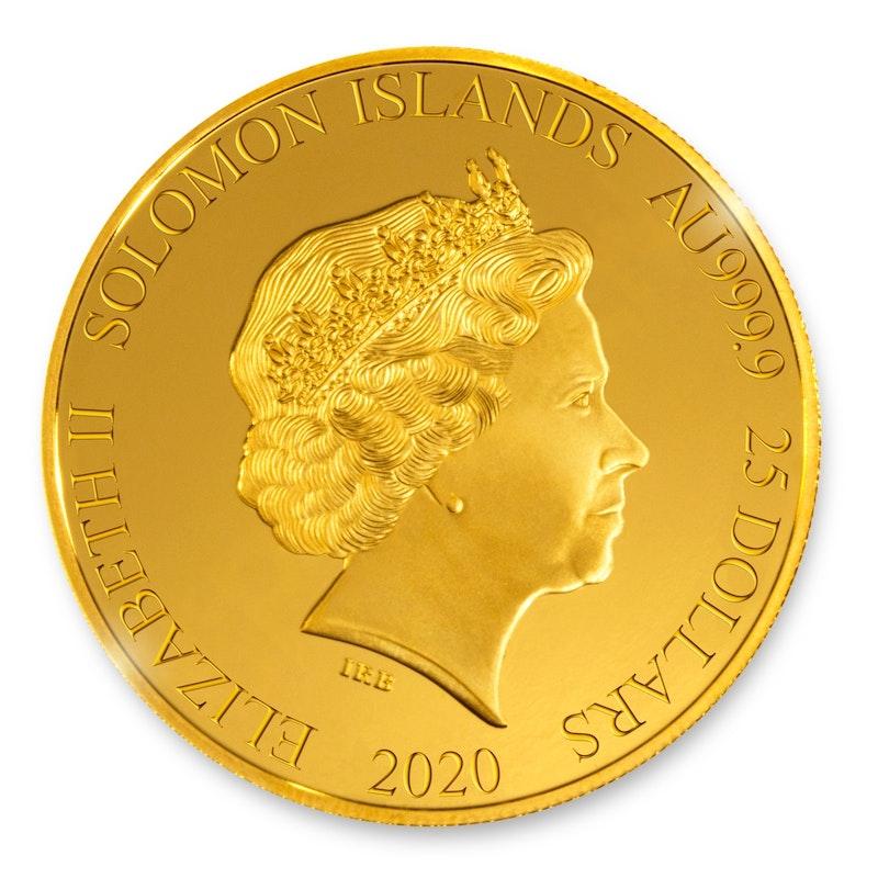 Formula 1® F170 1/4-oz Gold Coin 2020