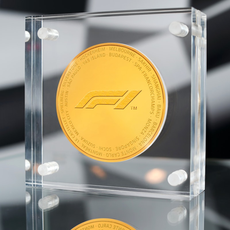 Formula 1<sup>®</sup> Kilo Gold Coin 2019