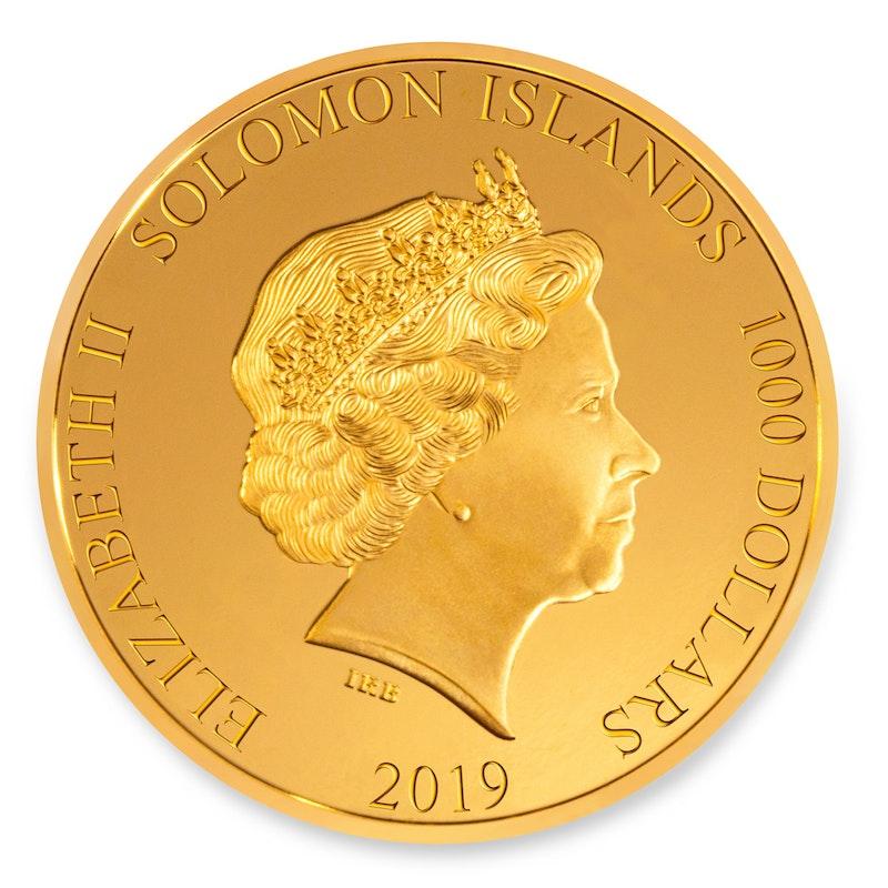 Formula 1<sup>®</sup> 2019 Gold Kilo Coin