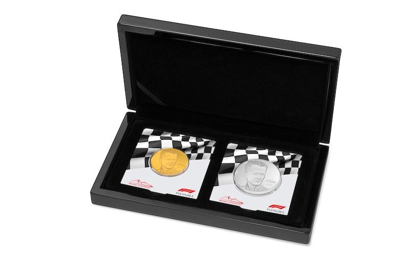 Michael Schumacher 2020 1.5 oz Gold Coin