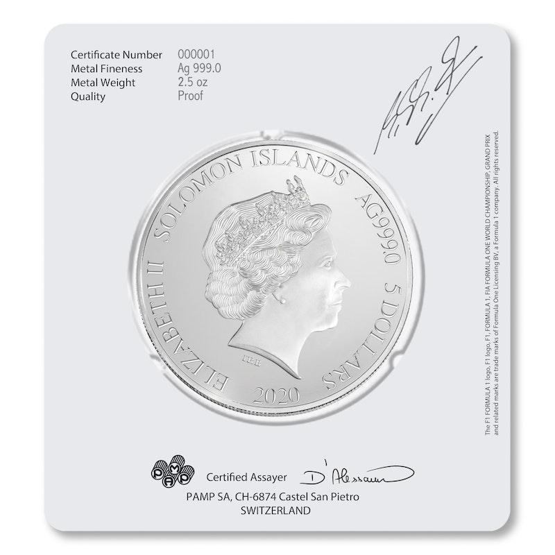 Michael Schumacher 2.5 oz Silver Coin