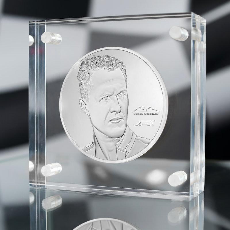 Michael Schumacher 2020 Kilo Silver Coin