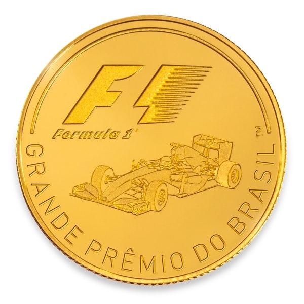 Grande Premio Do Brasil 1 4 Oz Gold Coin Rosland Capital
