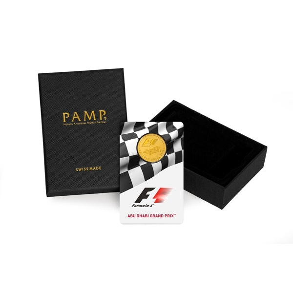 Formula 1 Abu Dhabi Gold Coin Box