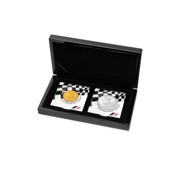 Formula 1 Abu Dhabi Gold and Silver Coins Box