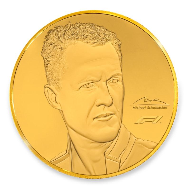 Michael Schumacher 1/4 oz Gold Coin