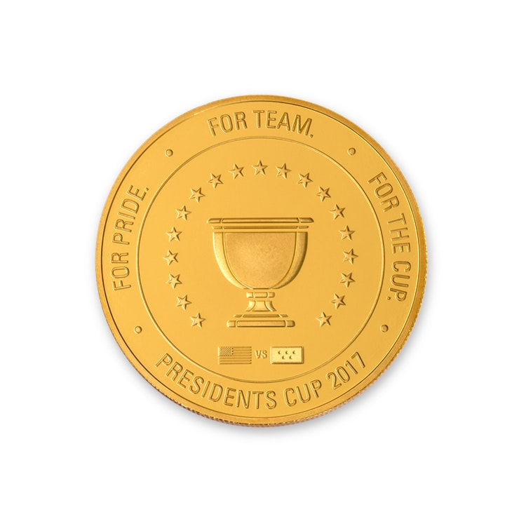 Presidents Cup 1.5 oz Gold Coin