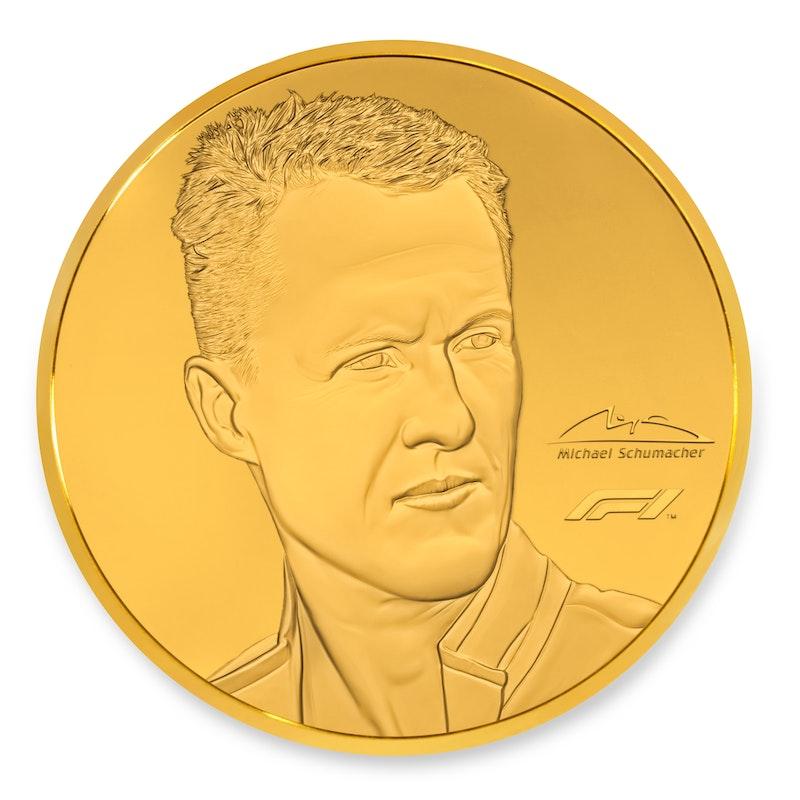 Michael Schumacher 2020 Kilo Gold Coin
