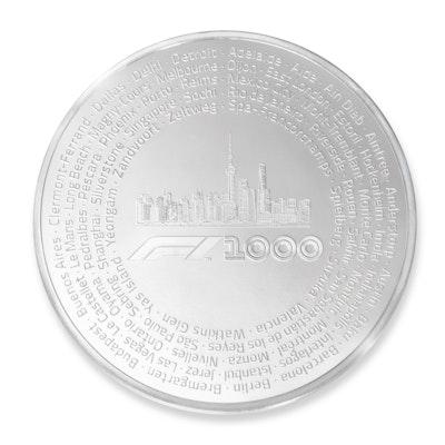 Formula 1® 1000 100 oz Silver Coin