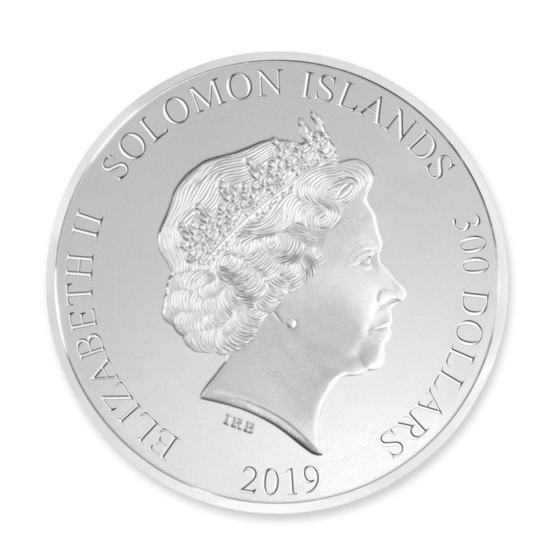 Formula 1<sup>®</sup> 1000 100 oz Silver Coin