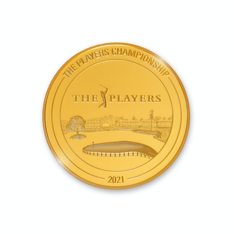 Players Championship 2021 1/4 oz Gold Coin