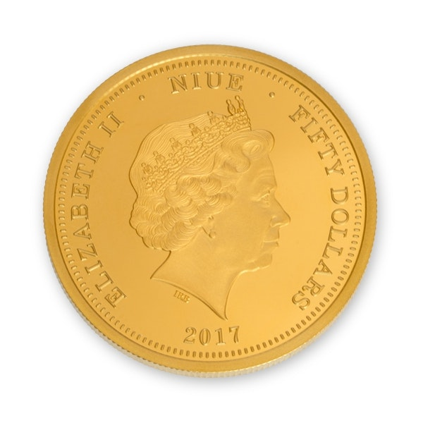 Williams Gold Coin Front