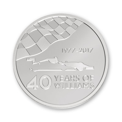 Williams 2.5-oz Silver Coin