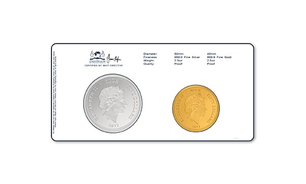 Williams Gold Silver Coin Back