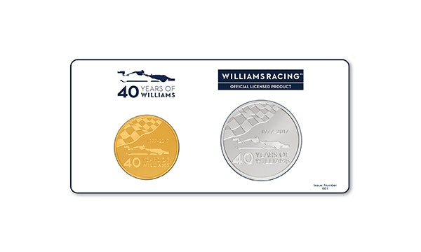 Williams Formula 1 Gold Silver