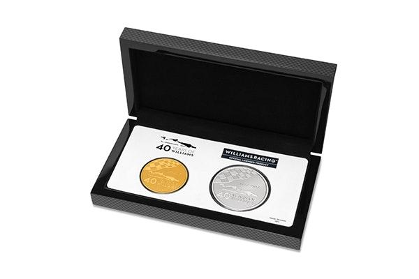 Williams Gold Coin Box