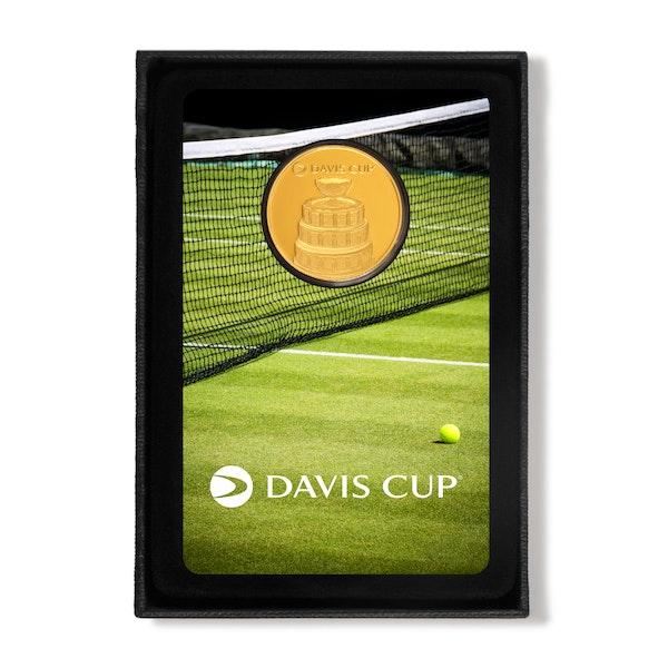 Davis Cup 2019 1/4 oz Gold Coin