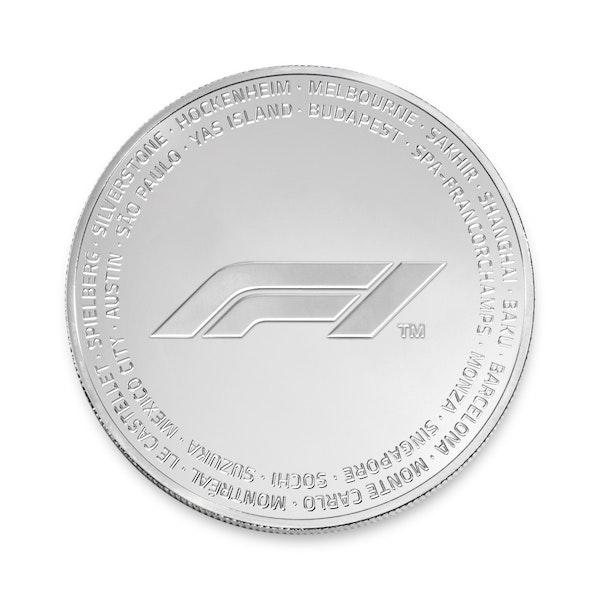 2019 F1® 2.5 oz Silver Coin