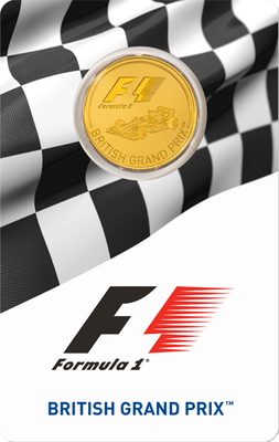 2016 BRITISH GRAND PRIX ™ 1/4-oz Gold Coin