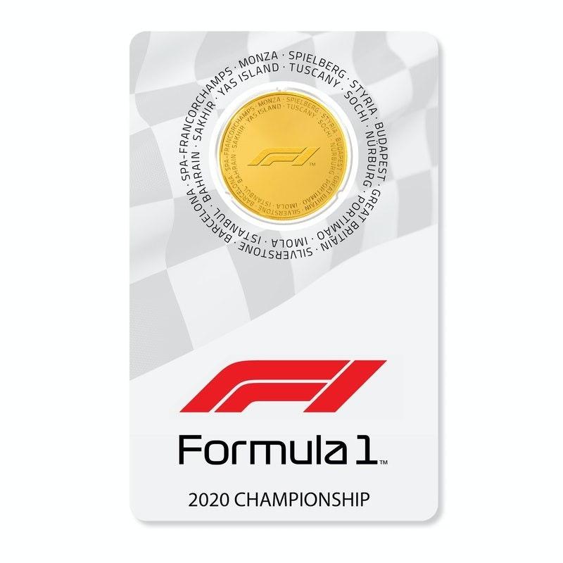 Formula 1® Championship 1/4 oz Gold Coin 2020