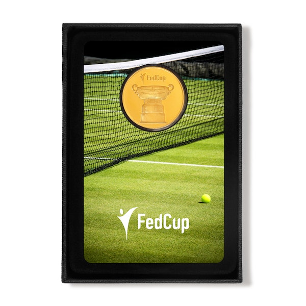 Fed Cup 2019 1/4 oz Gold Coin