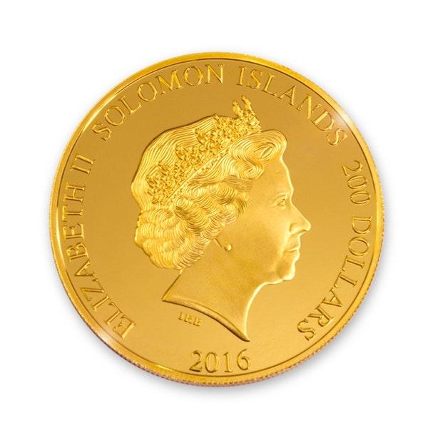 Formula 1 Abu Dhabi Gold Coin Back