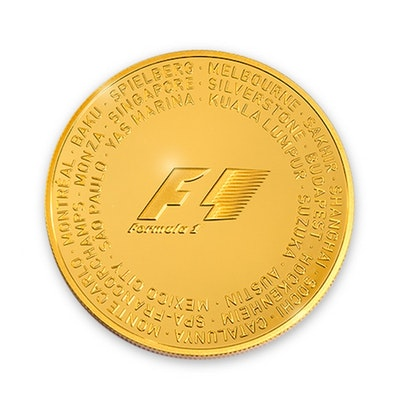 2016 Formula 1® 2.5-oz Gold Coin