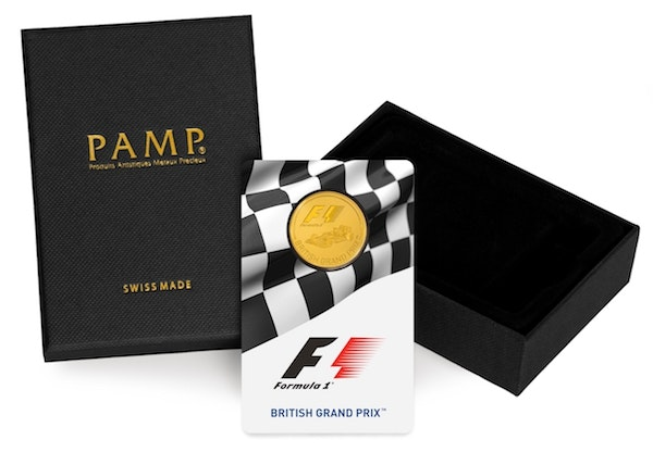Formula 1 Gold Coin Box