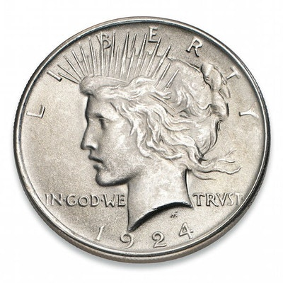 Peace Dollar Silver Coin