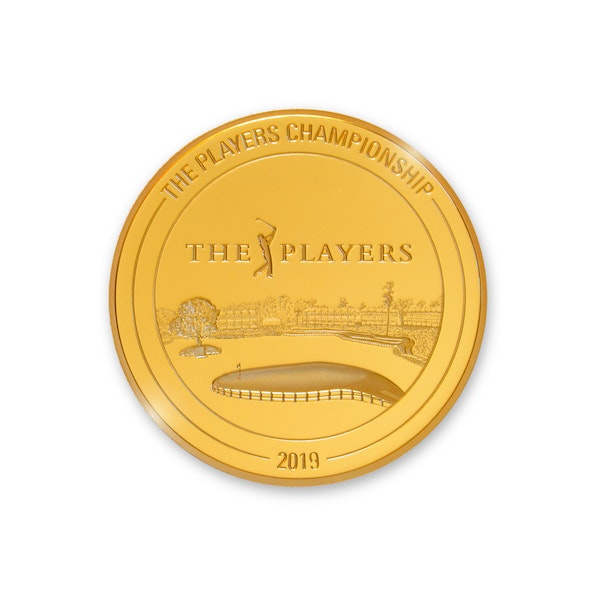 THE PLAYERS CHAMPIONSHIP GOLD & SILVER COIN COLLECTION