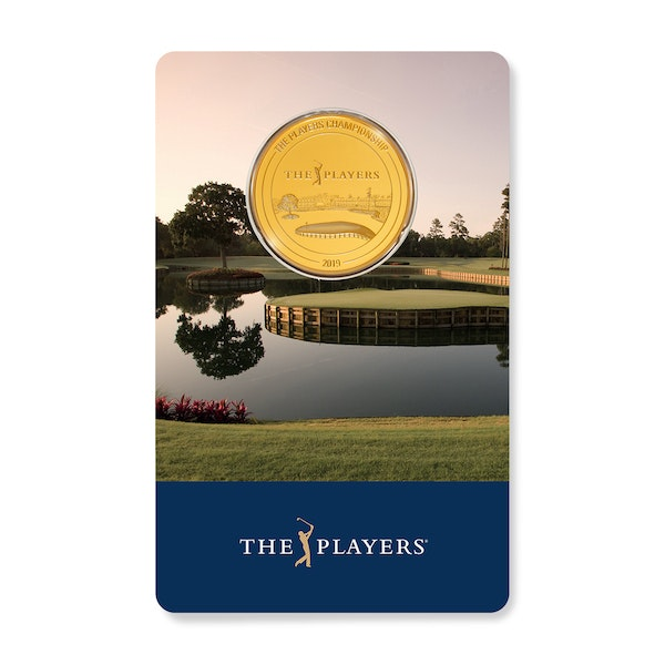PLAYERS CHAMPIONSHIP 2019 1/4 oz Gold Coin